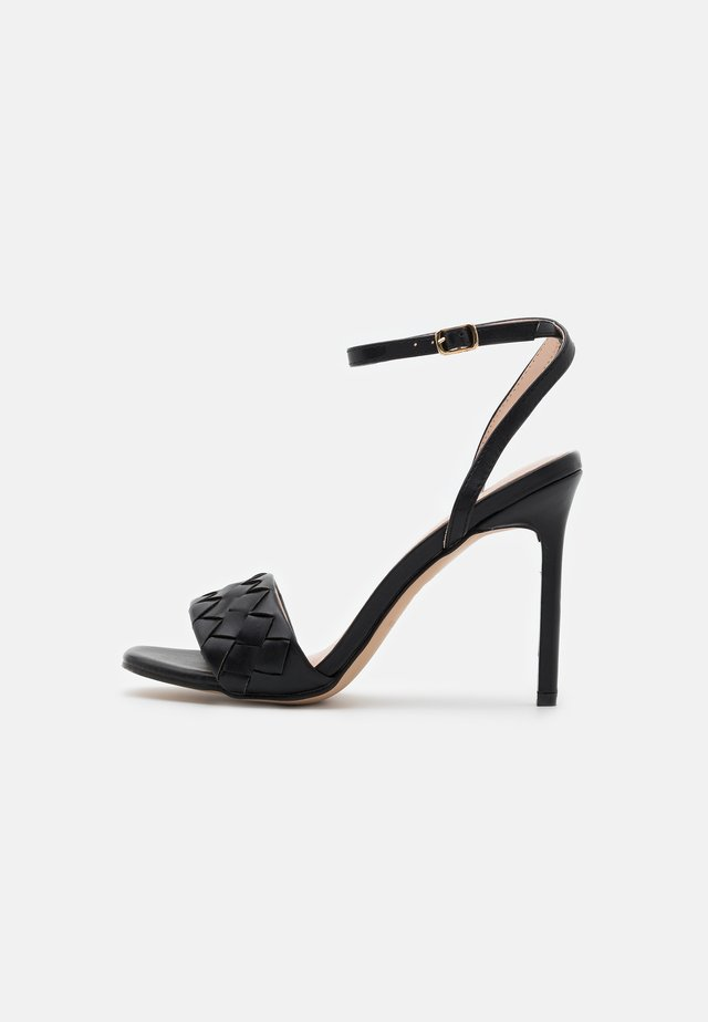 DELLA - Korolliset sandaalit - black