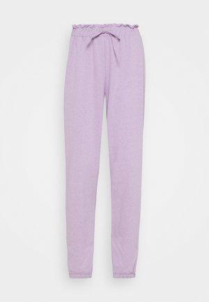 VMCARMEN PANT - Teplákové kalhoty - lavendula melange