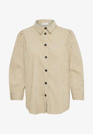 KACORINA - Button-down blouse - Beige