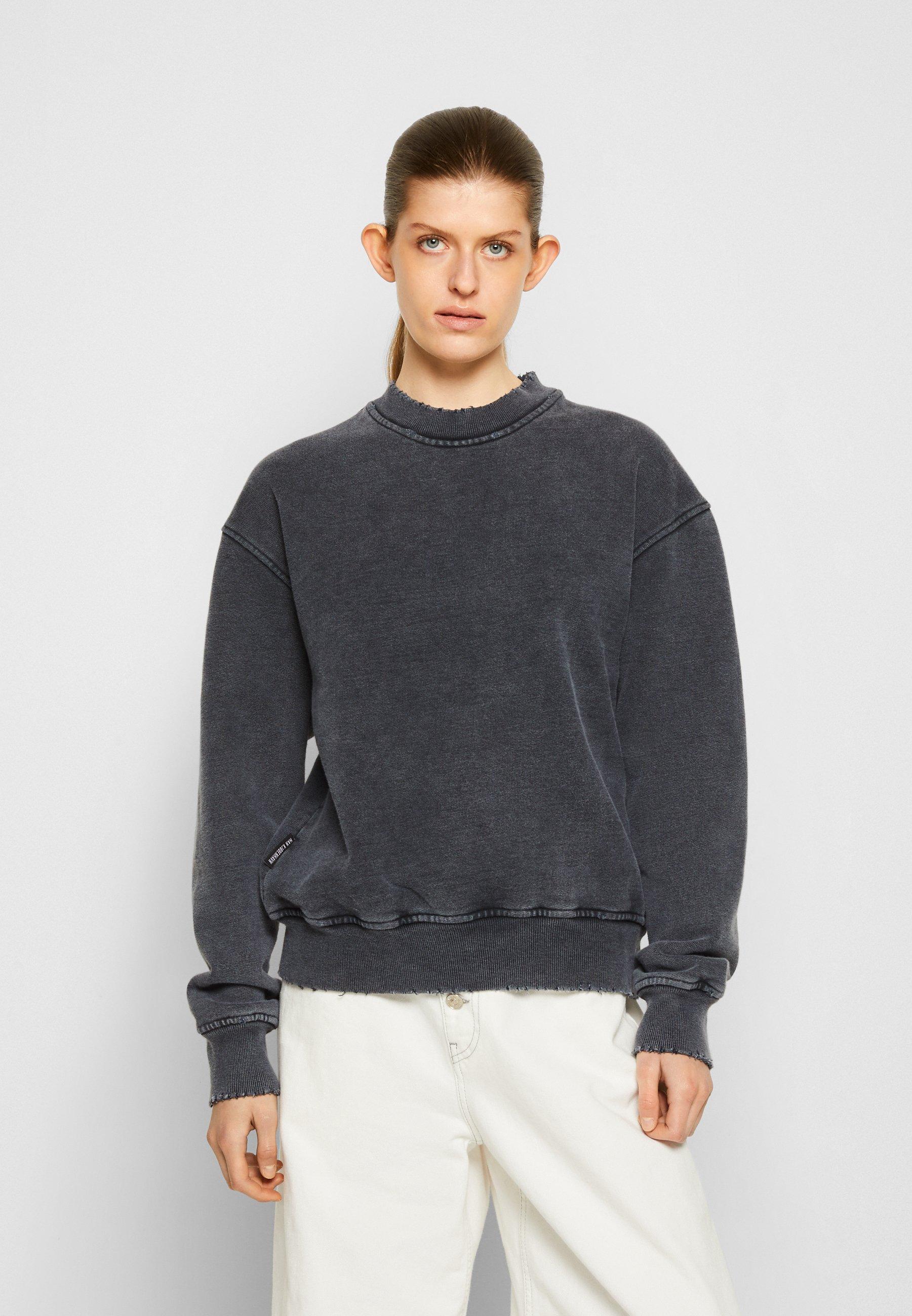 Women DISTRESSED CREW - Sweatshirt