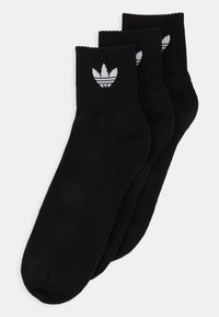 MID ANKLE 3 PACK - Chaussettes - black