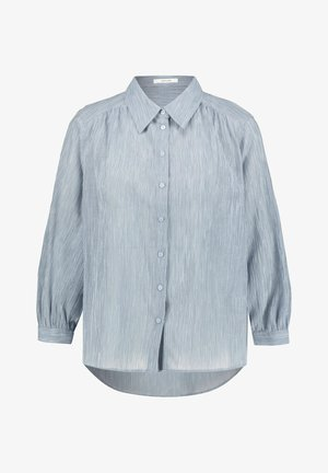 FISANA - Button-down blouse - bleu