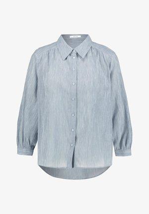 FISANA - Button-down blouse - bleu
