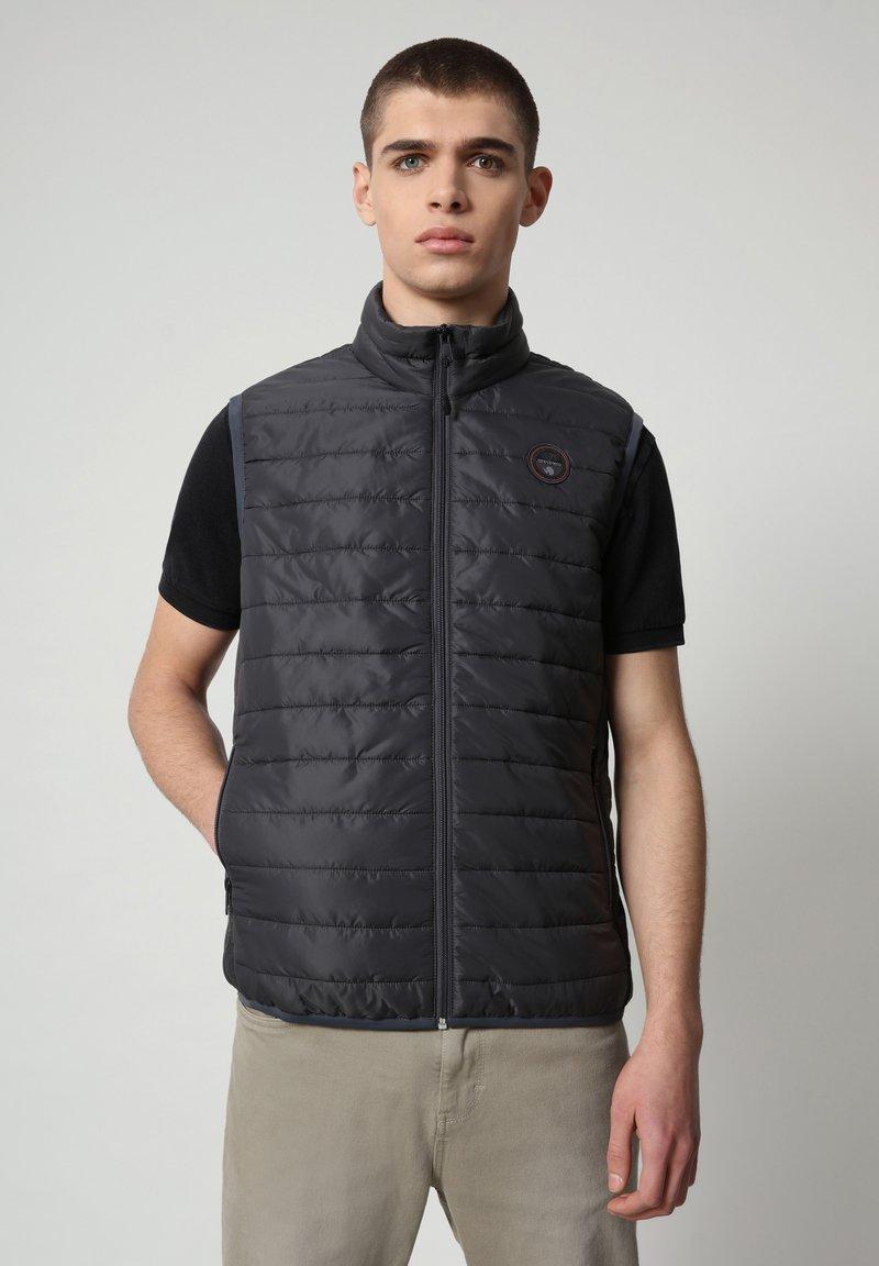 Napapijri - ACALMAR - Waistcoat - dark grey solid