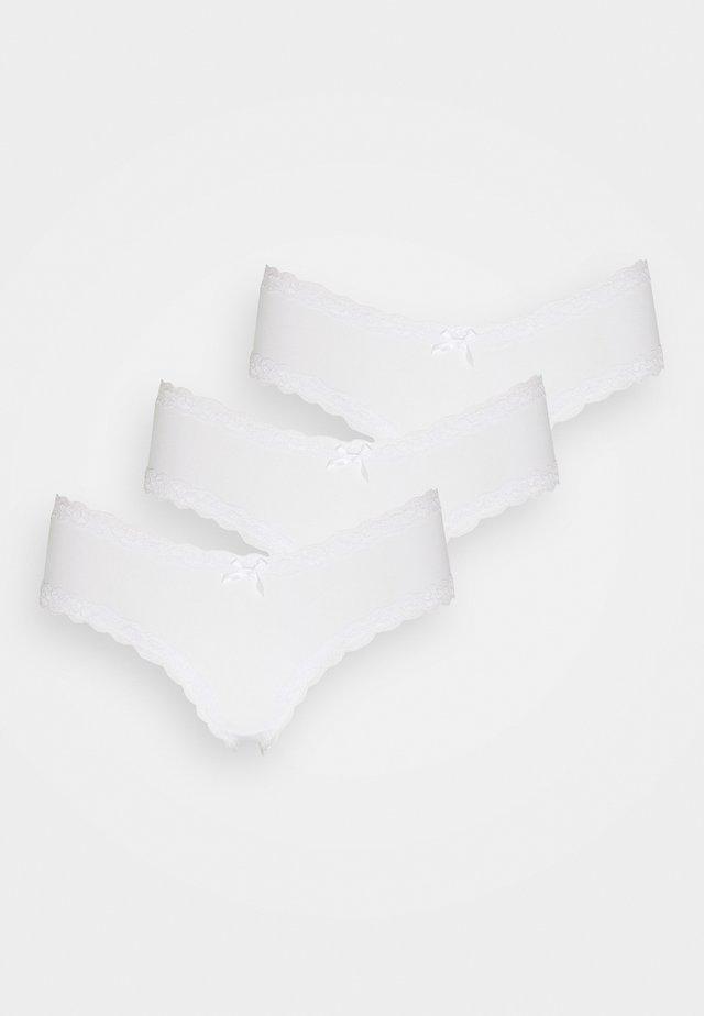 V SHAPE 3 PACK - Underbukse - white