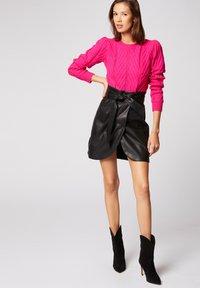 Morgan - Pullover - neon pink - 1