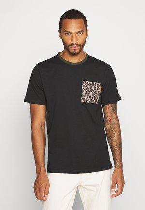 PALMER TEE - T-Shirt print - black