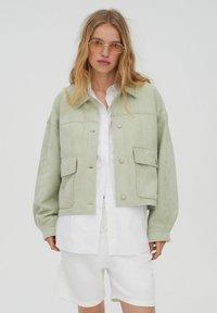 PULL&BEAR - Light jacket - light green - 0