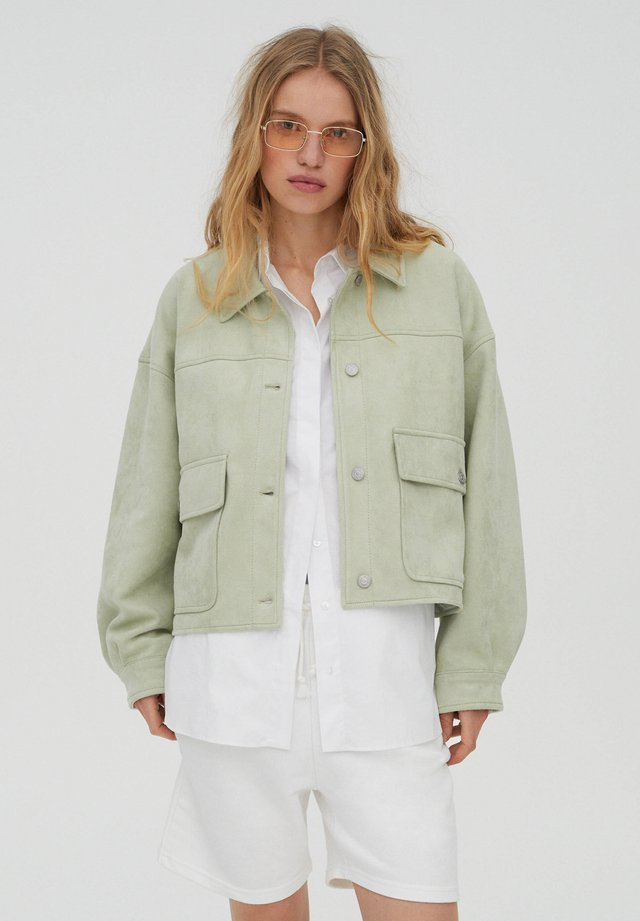 Veste mi-saison - light green