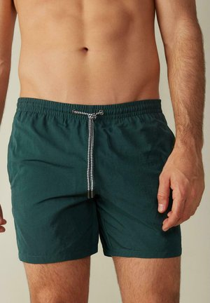 BOXER BADEHOSE - Swimming shorts - verde scuro