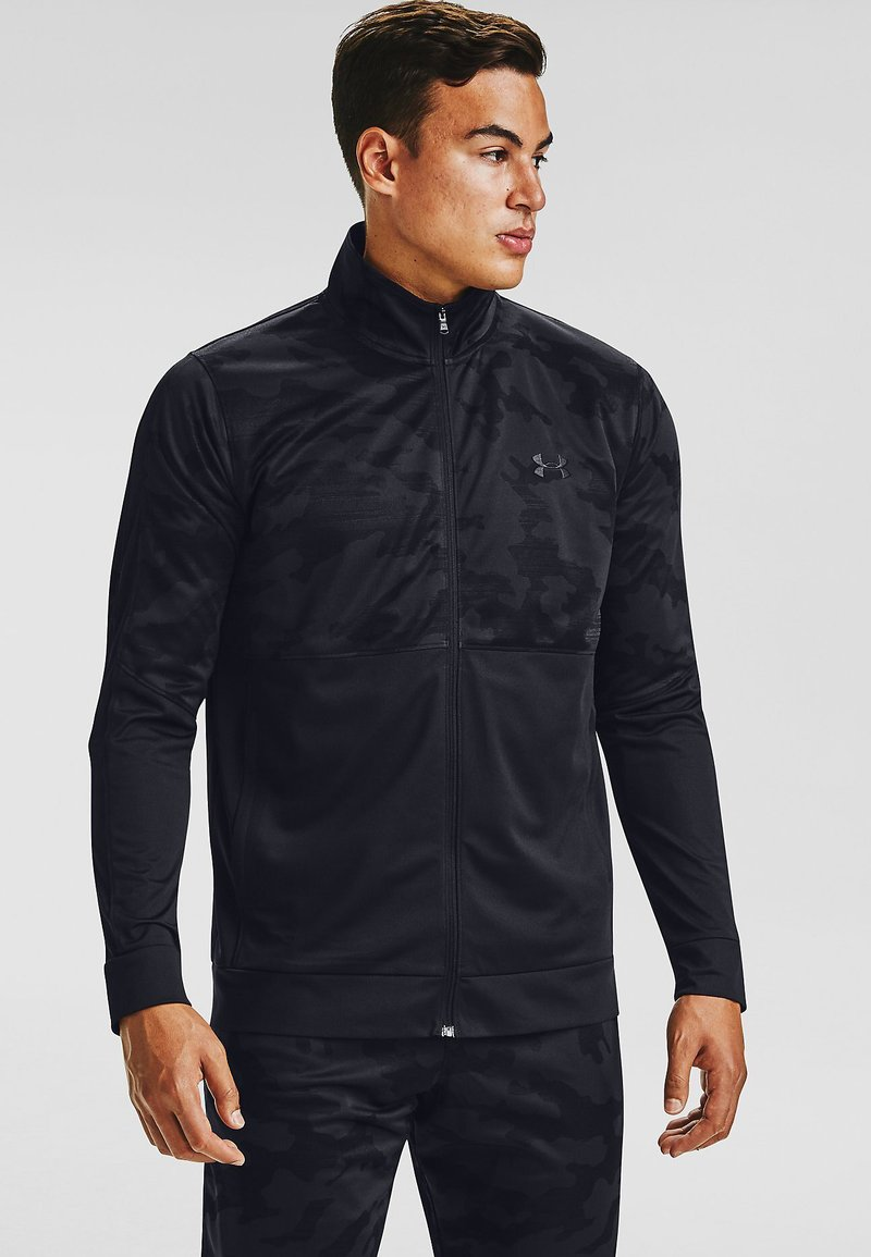 Under Armour - SPORTSTYLE PQE CAMO TK JT - Training jacket - black