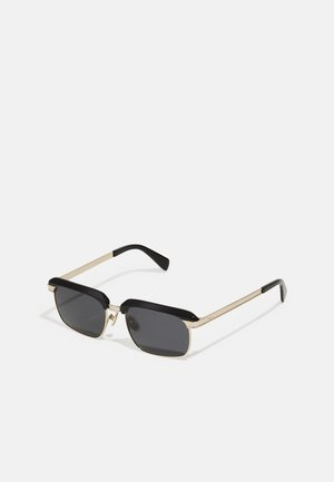 UNISEX - Sunglasses - black/gold-coloured