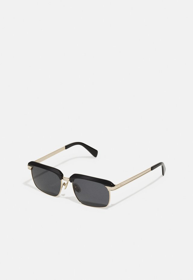 UNISEX - Solglasögon - black/gold-coloured