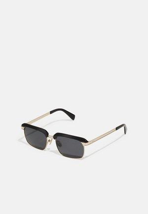 UNISEX - Okulary przeciwsłoneczne - black/gold-coloured
