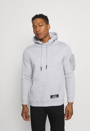 HOUDINI - Sweat à capuche - light grey marl/light grey