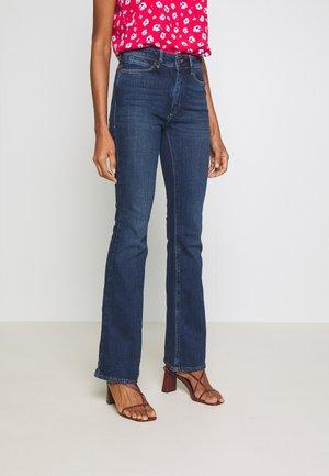 ESSENTIAL STRETCH - Flared jeans - dark blue