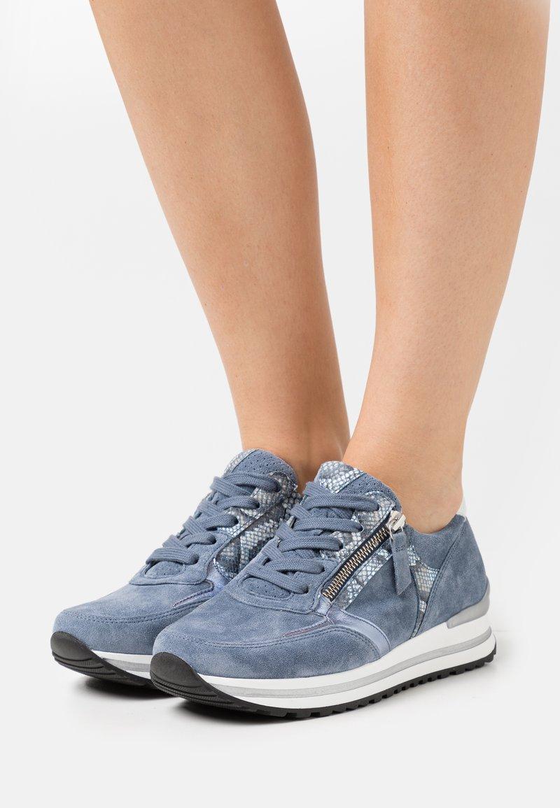 Gabor Comfort - Sneakers laag - nautic/azur/weiß