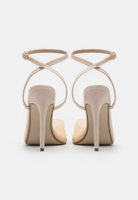 Missguided - CLEAR DETAIL ANKLE STRAP - Sandals - cream - 3