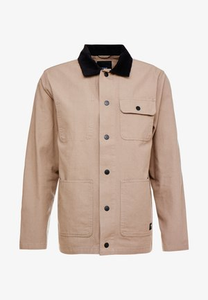 DRILL CHORE COAT - Korte jassen - military khaki