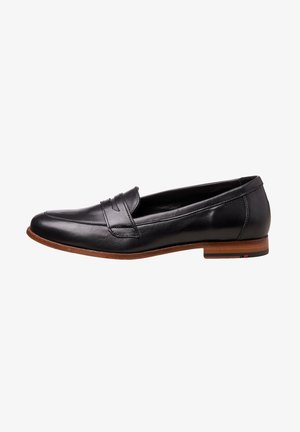 Boat shoes - schwarz