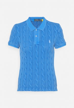 CABLE - Poloshirt - keel blue