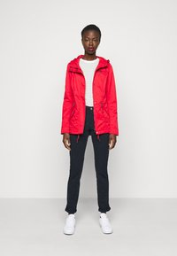 Selected Femme Tall - SLFMILEY CHINO - Chinos - navy blazer - 1