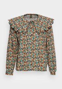 GIA BLOUSE - Button-down blouse - black