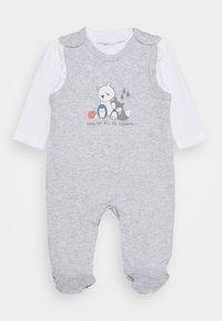 Jacky Baby - 2 PACK - Pyžamová sada - grey/white - 1