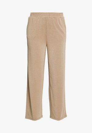 ONQGAIA WIDE PANT - Trousers - chinchilla