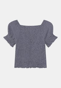 Abercrombie & Fitch - SMOCKED CORSET  - Blouse - dark blue - 1