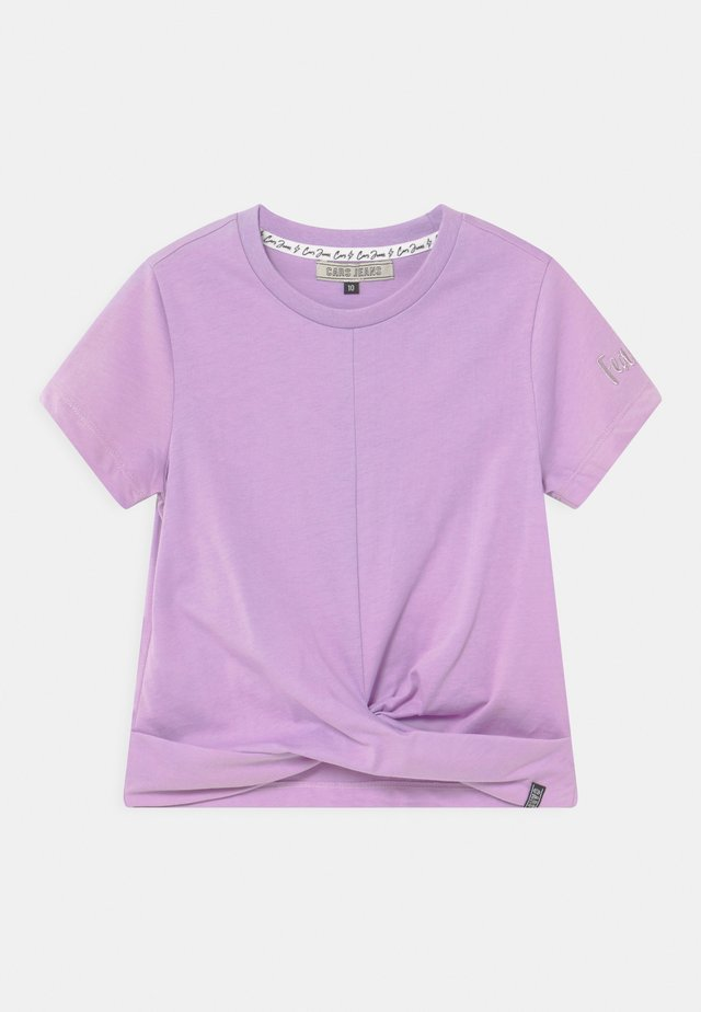 SANTA - T-shirt con stampa - lila