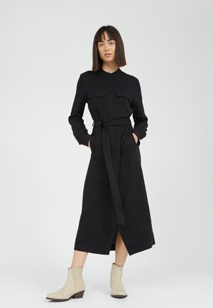 BEANTAA - Shirt dress - black