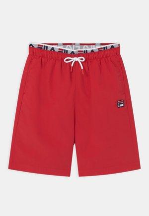 RENE SWIM - Swimming shorts - true red