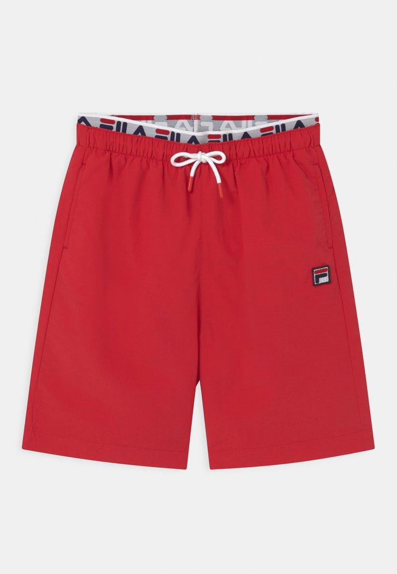 Fila - RENE SWIM - Swimming shorts - true red