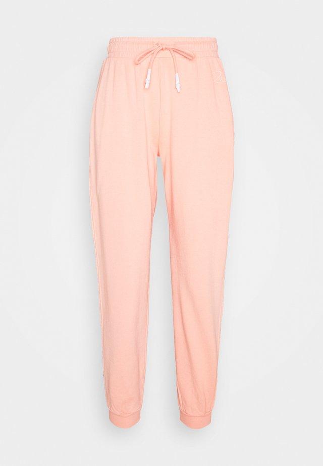 Teplákové kalhoty - peach