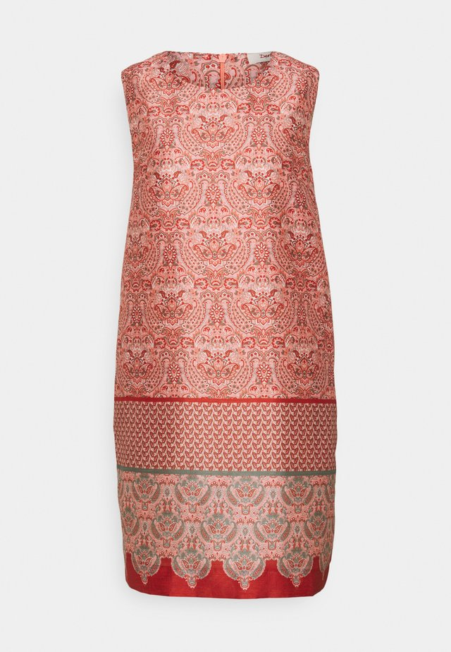 SUDEST DRESS - Day dress - coral