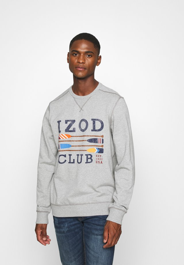 FRENCH TERRY CLUB CREW NECK - Sweatshirt - light grey