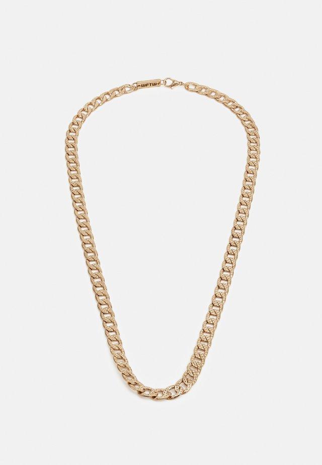 MAVERICK CHAIN NECKLACE - Collana - gold-coloured