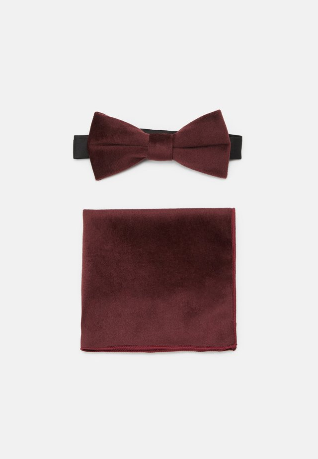 ONSTBOX THEO BOW TIE HANKERCHIEF SET - Pocket square - winetasting