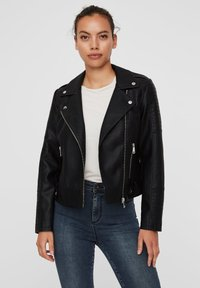 Vero Moda - VMKERRIULTRA  - Faux leather jacket - black - 0