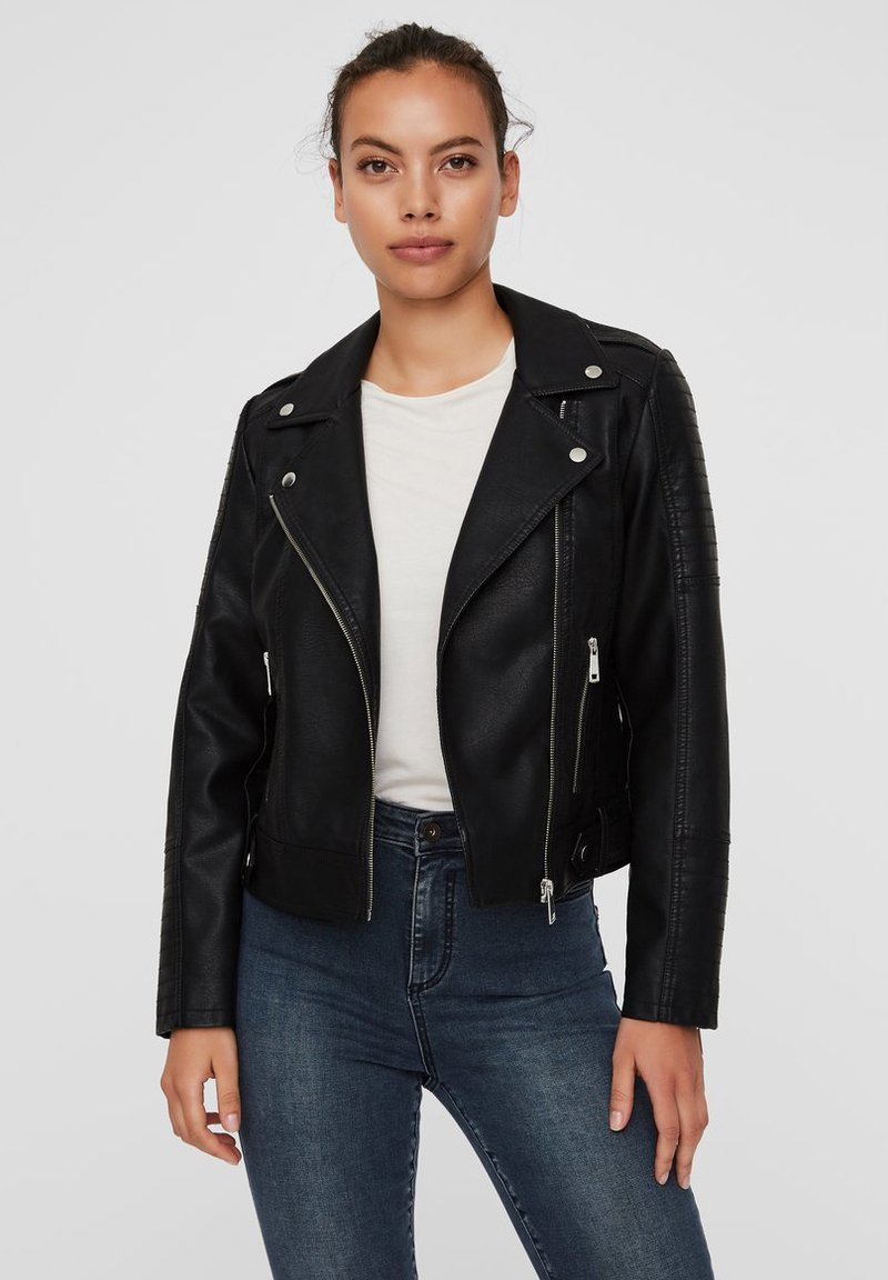 Vero Moda - VMKERRIULTRA  - Faux leather jacket - black