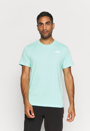 REDBOX CELEBRATION TEE - Print T-shirt - surf green/white