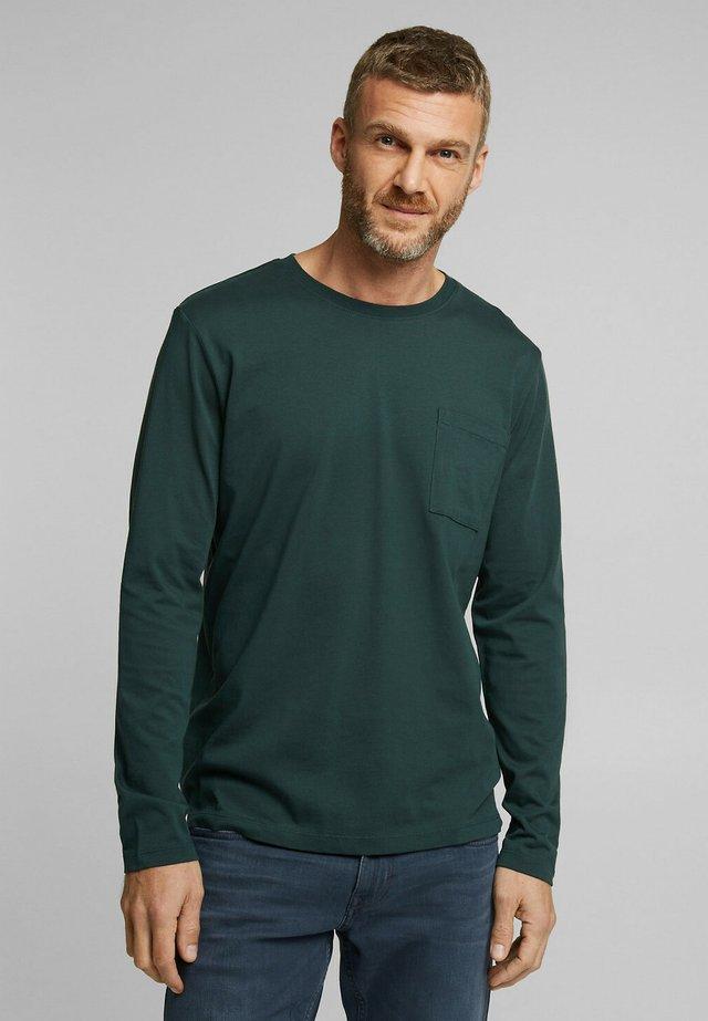 T-shirt à manches longues - teal blue