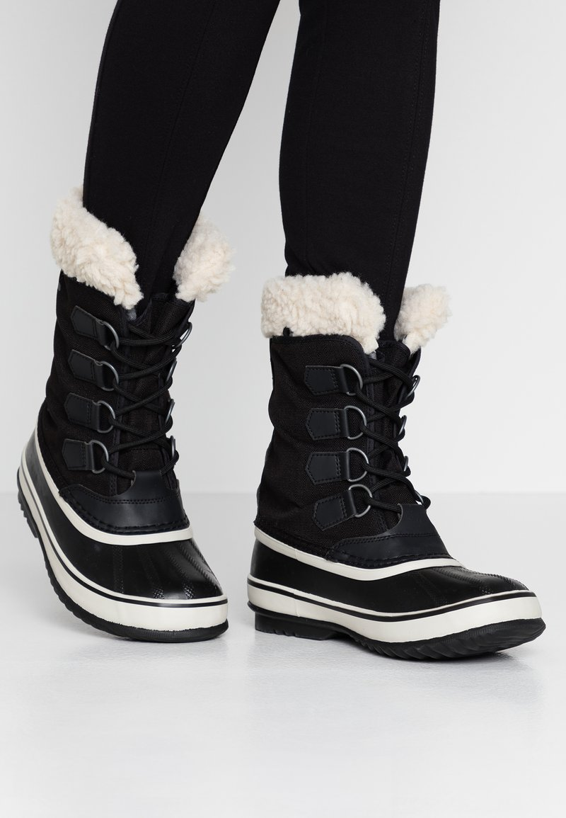 Sorel - CARNIVAL - Winter boots - black/stone