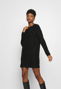 ONLY - ONLCAROL  - Strikket kjole - black - 0