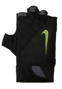 Nike Performance - MEN´S ELEMENTAL FITNESS GLOVE - Gants - black/dark grey/black/volt - 2