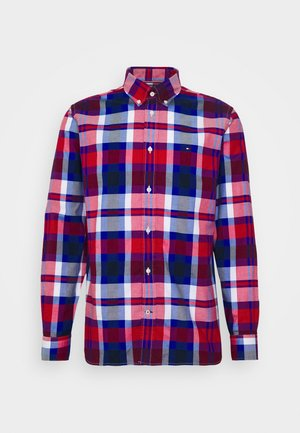 FLEX BRIGHT MIDSCALE CHECK - Camisa - red