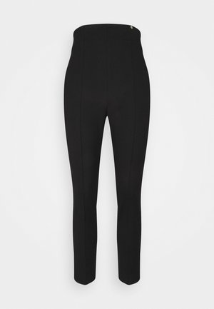 PANT SKINNY - Trousers - nero