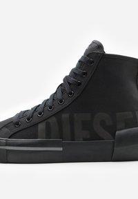 Diesel - DESE S-DESE MID CUT - Sneakersy wysokie - black - 5