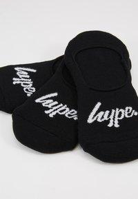Hype - LOAFER HYPE 3PACK - Socks - black - 2